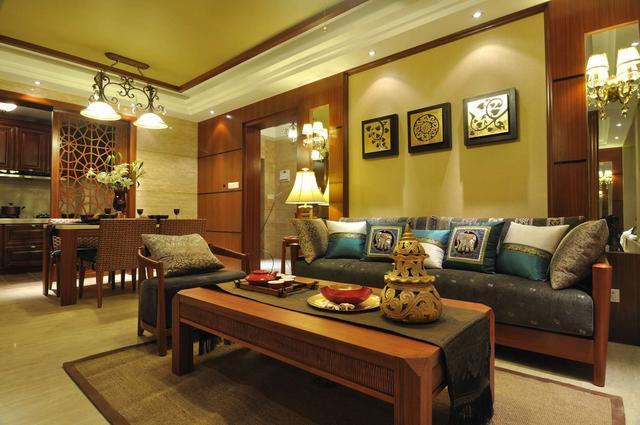 装修设计之东南亚风格特点解析&泰式样板间欣赏