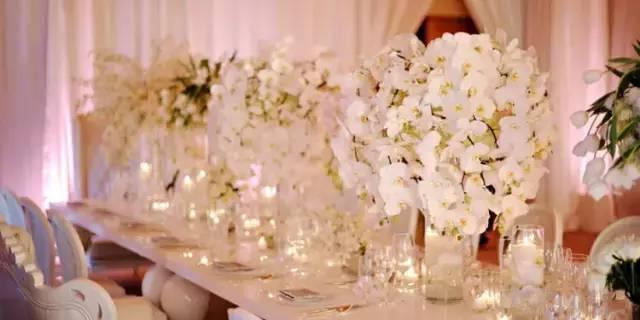 现代婚礼会场布置越来越接近欧式