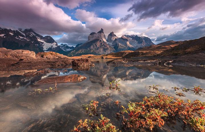 的�9��_智利摄影师adriano neve拍摄了nordenskj ld湖畔的美丽景象.