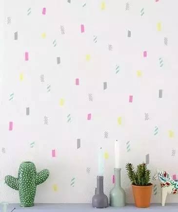 墙面装饰格子花纹