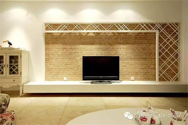 2016年电视墙装修效果图大全