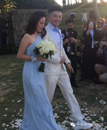 吴奇隆与刘诗诗大婚给单身狗打了一支强心针