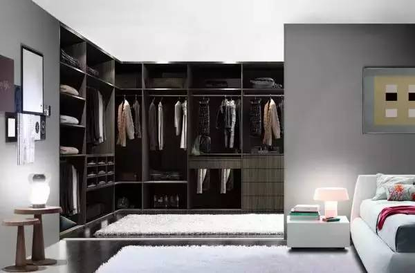 教你如何布局衣柜内部空间!