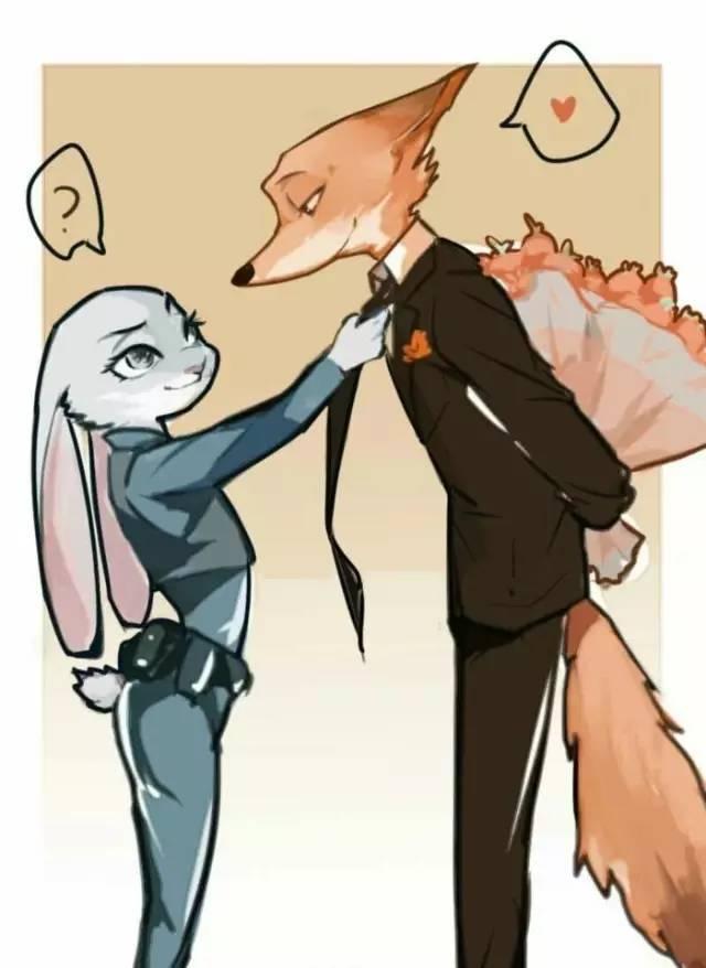 爆笑动态图:兔朱迪和狐狸尼克(第1066期)