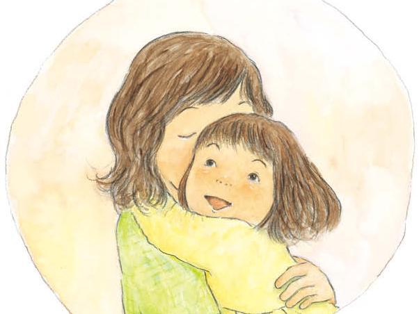 母婴温馨图片卡通