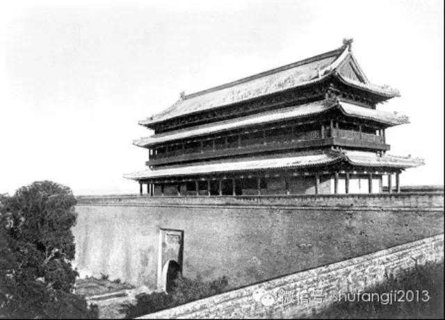 一百年前外国人笔下的西安城
