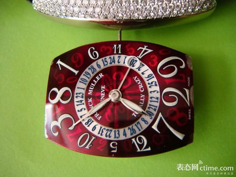 一块胡乱排序的手表怎么看时间