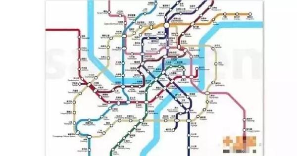 重庆茶园轨道交通规划图