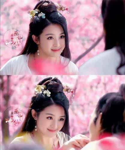 赵丽颖,张含韵,娱乐圈少见的圆脸美女