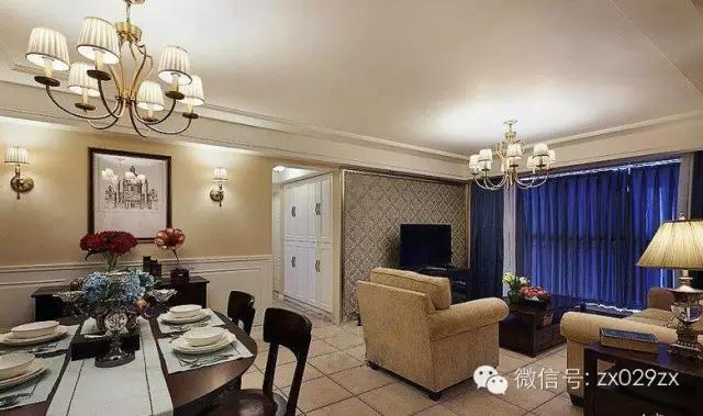 客厅过道地板瓷砖效果图135平方