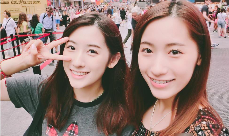 复旦大学双胞胎姐妹花一同被哈佛录取