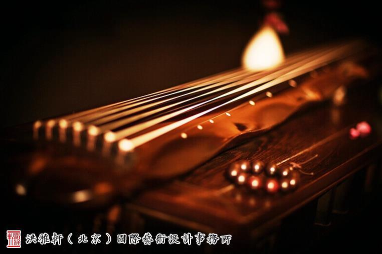 中国古琴萧散简远恬淡清逸的小学意境忧美学首尔市忘图片