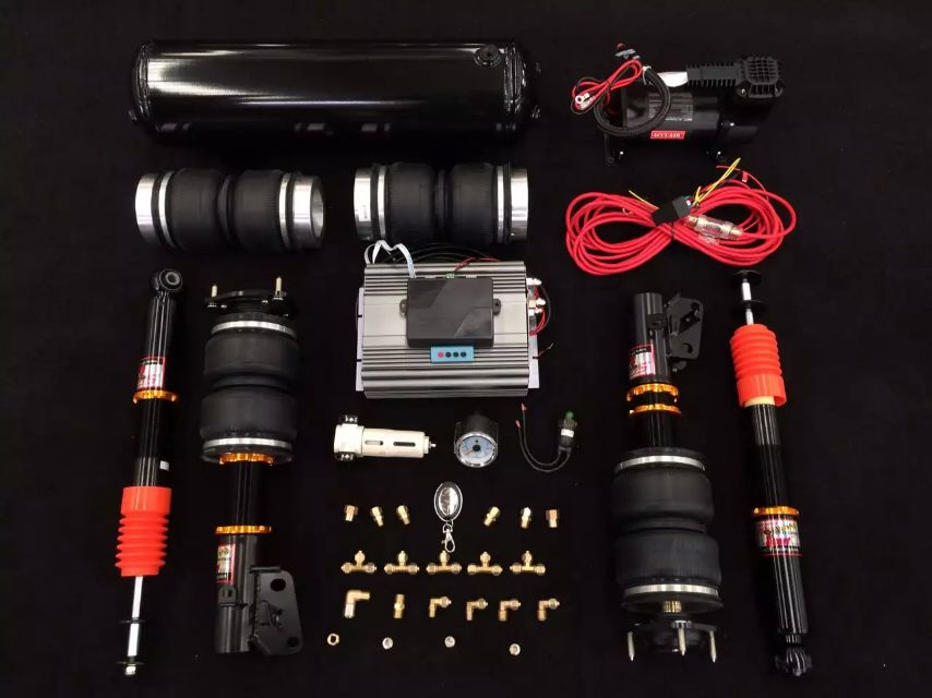八代思域airbft整套搭配台湾sf气动避震图片