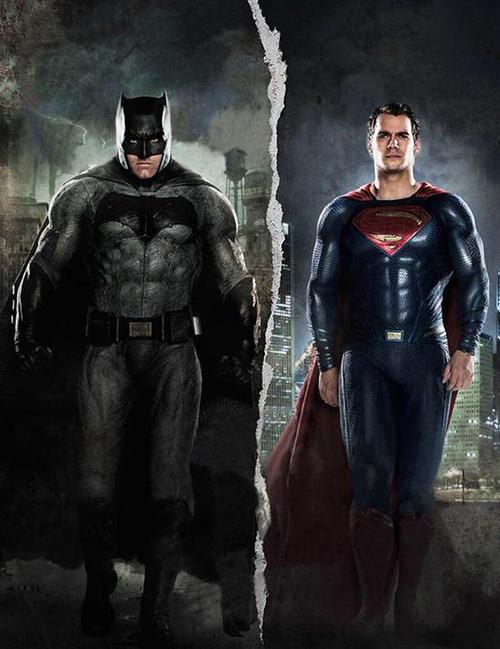 超人大战蝙蝠侠,一大波美女超人袭来