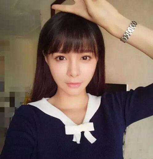 沈梦辰空气刘海发型:美腻众人的图片