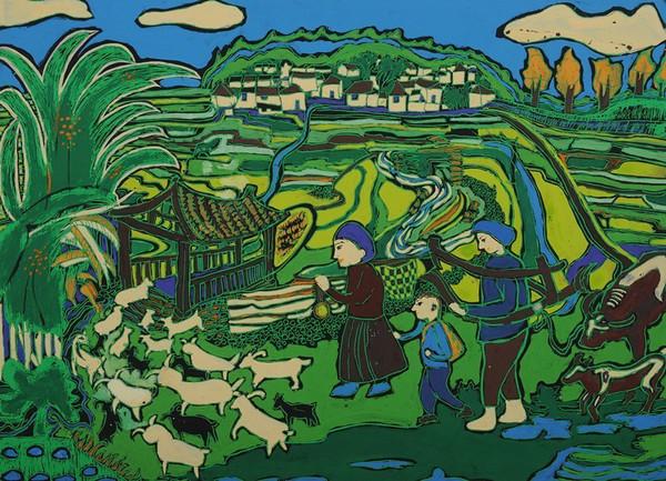 童心如梦 想象飞扬 省中小学生艺术节美术比赛优秀作品展(三)图片