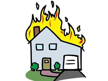 火灾拨打119矢量图