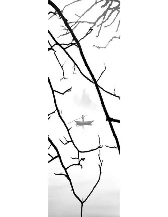 黑白简约头像 手绘 微信