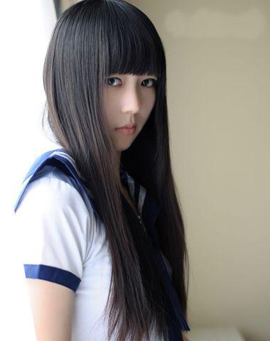 2016拉直短直发发型?中女生跳楼后流行下披散短发黄石四中十图片