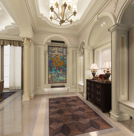 上海保利一座案例装修设计别墅--别墅美丽客户玫瑰贵阳公园类需求的图片