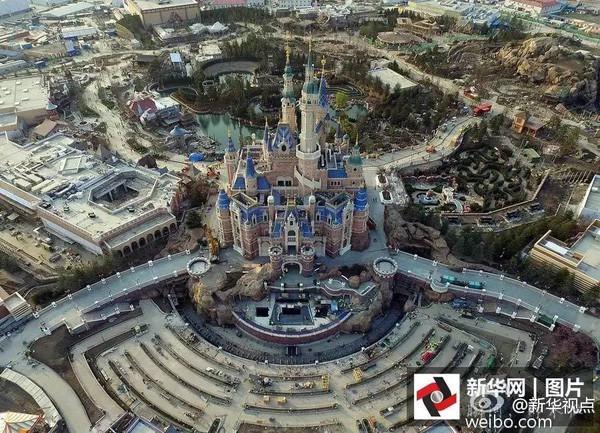 迪士尼最新航拍图来了!打算买票的伙伴一定要看这条!