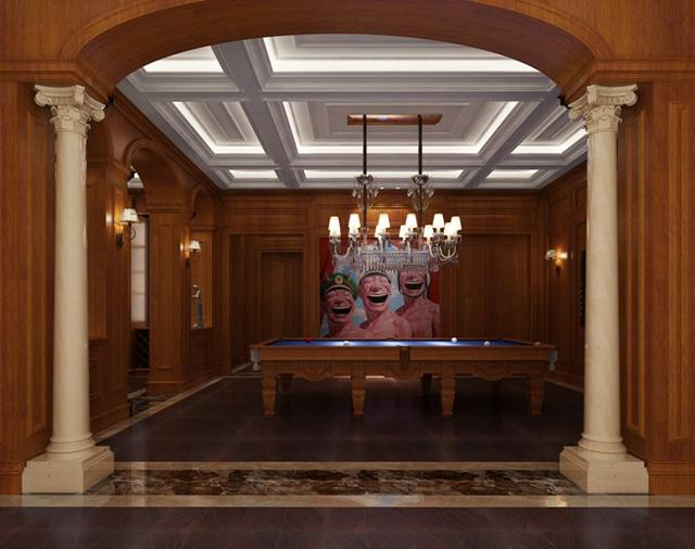 罗马保利公园一座装修设计别墅--别墅美丽玫瑰案例贵阳意墅济宁图片