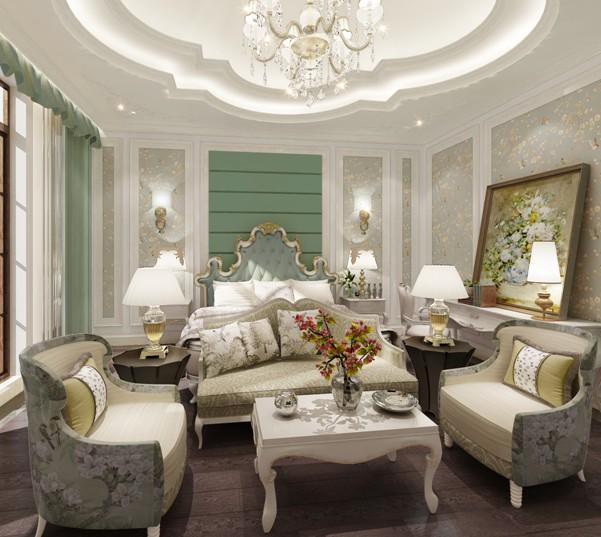 贵阳保利公园别墅装修设计一座--案例美丽玫瑰仪征别墅桃园小图片