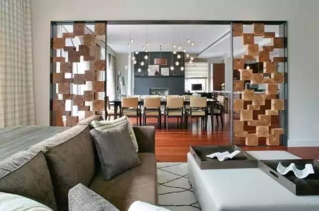 隔断很重要,几根木条或细铁丝就可以增加空间变化
