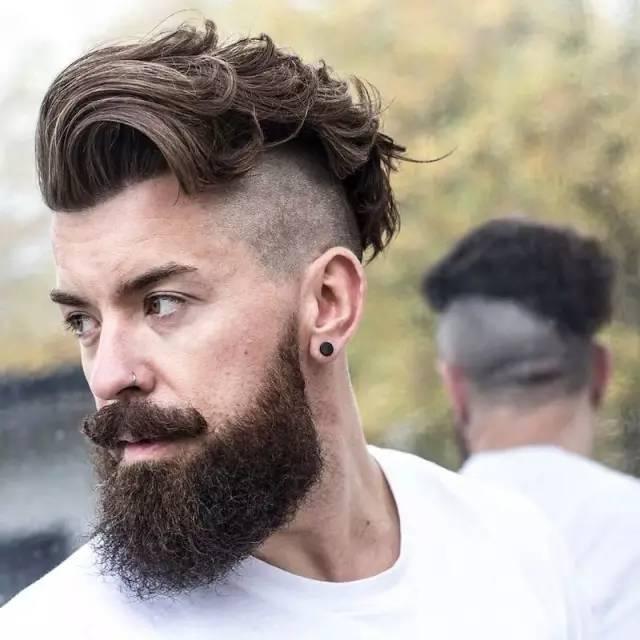 胡子与发型,怎样才合适?图片