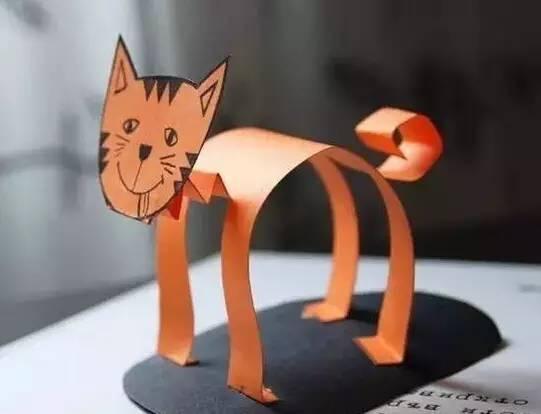 彩纸手工制作大全图解动物帽子