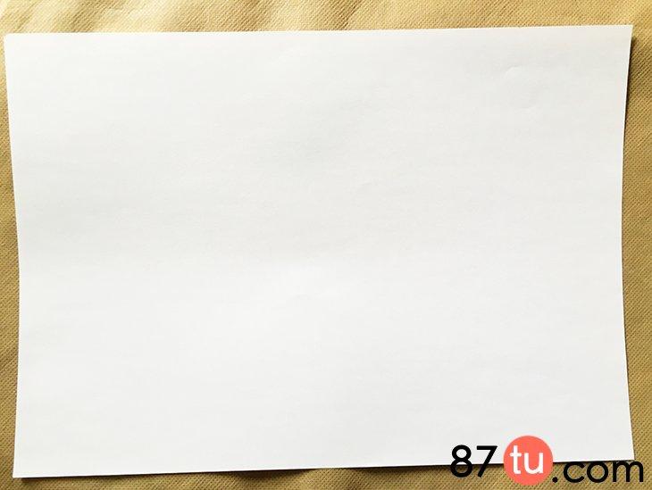 折纸正方形相框的图片步骤图解