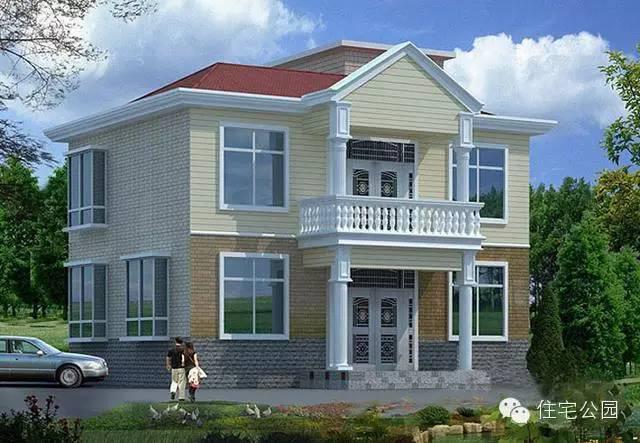 为展示一套农村自建房乡村别墅图纸设计含有哪些类别