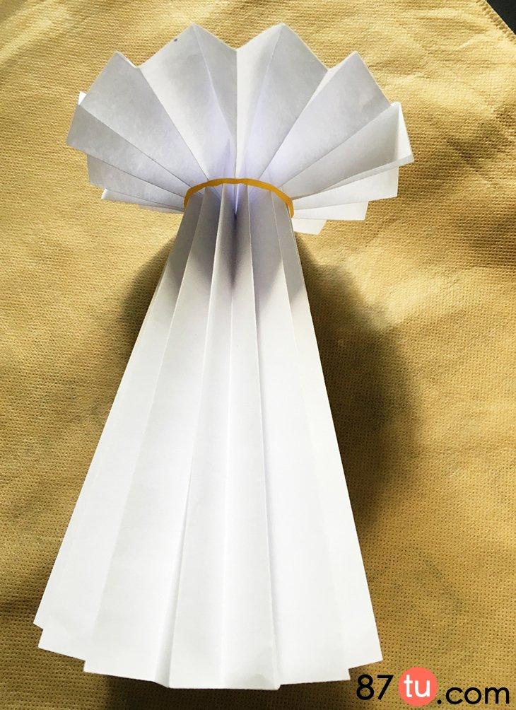 精美的花盆折纸图解教程图片