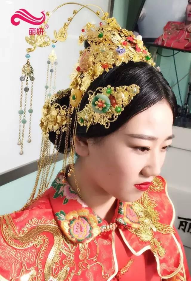 秀禾新娘妆也是古典新娘妆的一种