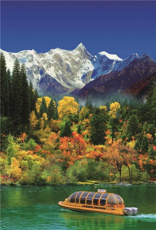 西藏风景的手机壁纸版本