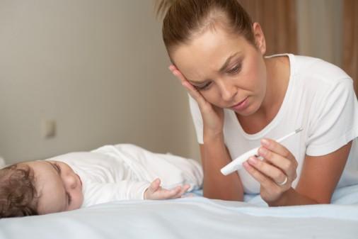 宝宝发高烧可以吹风吗