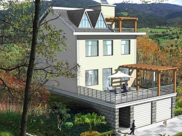 保温抗震新型房屋