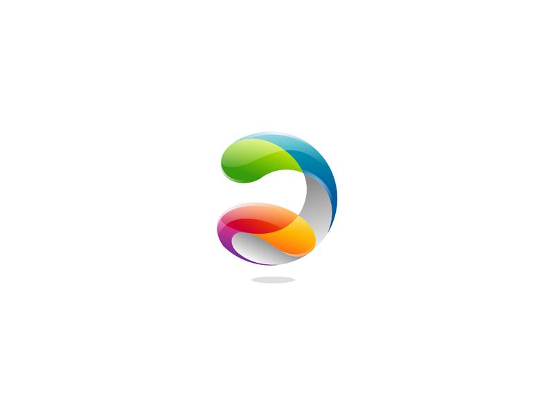 今天为大家分享的是用ai来制作简单的立体logo效果