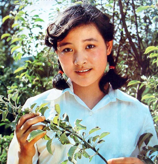 陈冲年轻写真