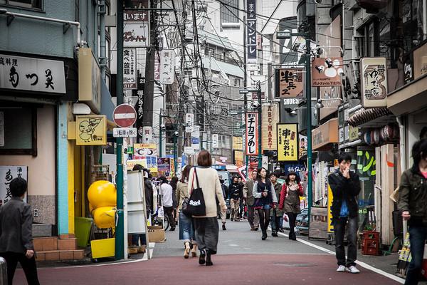 壁纸 步行街 街道 街景