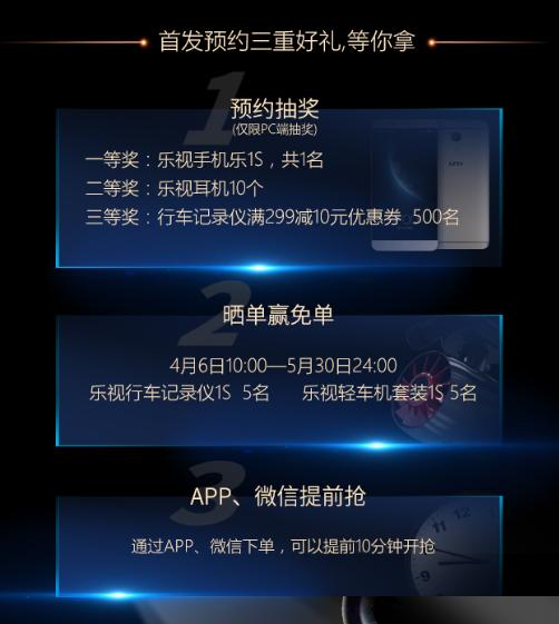 乐视行车记录仪1S和乐视轻车机套装1S登录京东商城