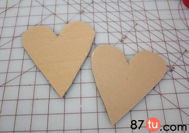 玫瑰之心花束折纸图解教程图片