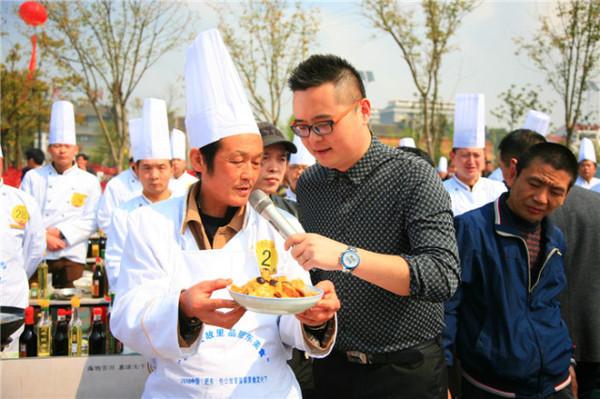 2016肥东(中国)美食文化节盛大据说,启幕营养美食吃货老年人图片