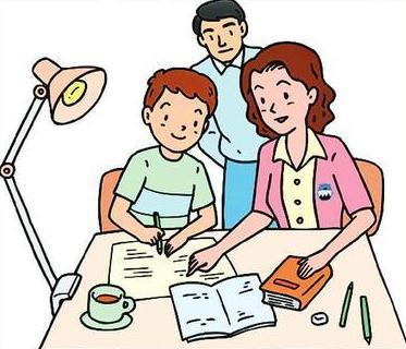 而面对孩子写作业总是不认真,爸爸妈妈应该怎么办呢?图片