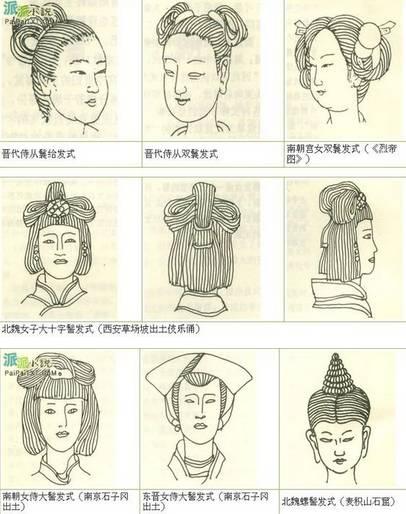 吴倩莲《北魏冯太后》-发型演变史 你的发型还停留在哪个时代