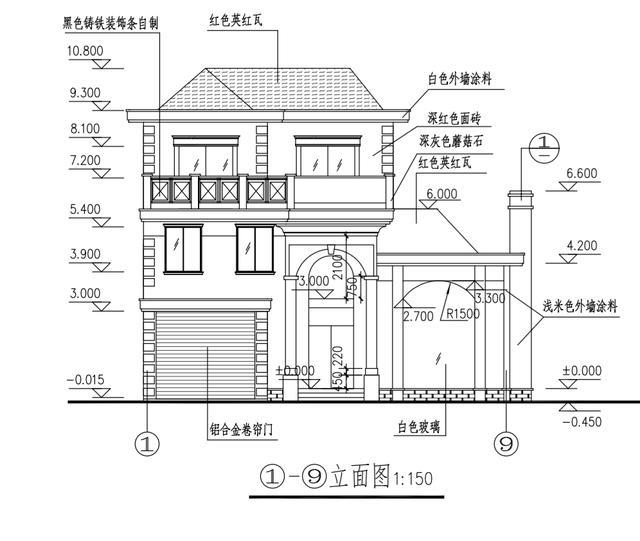 新农村自建房12.8x12.5米