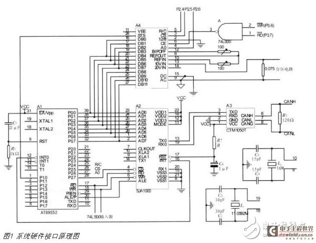 采集节点系统电路设计