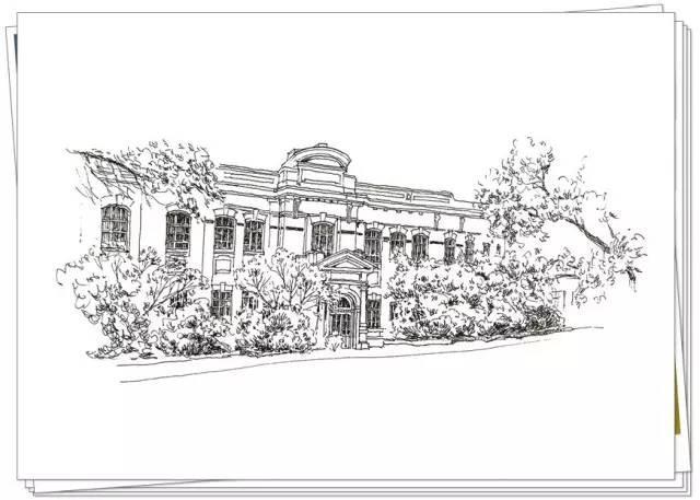 跟随手绘大师看哈尔滨老建筑