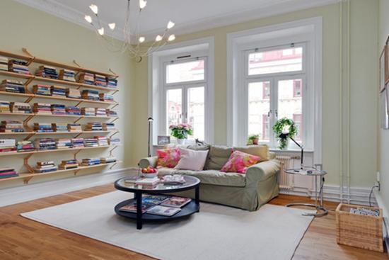 时尚家居装修,北欧风客厅设计