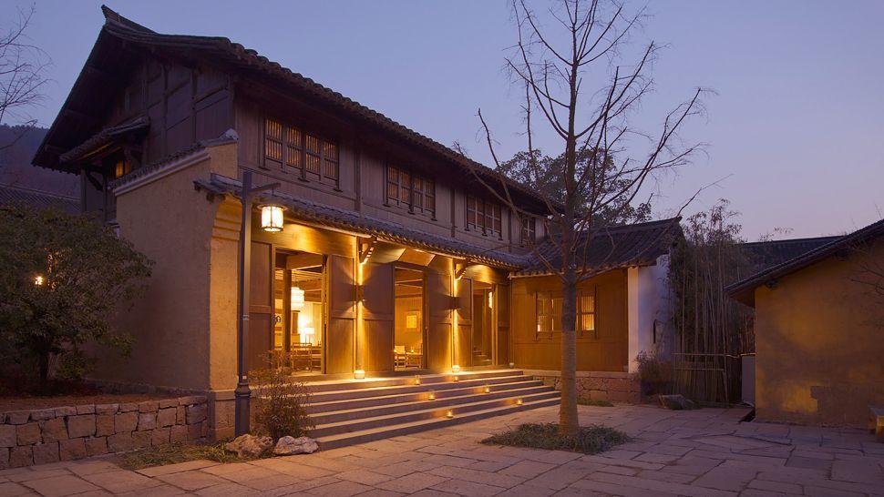 青岛安缦酒店_杭州法云安缦酒店